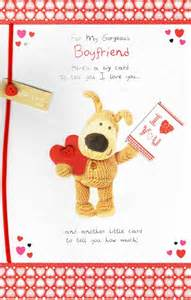 to my gorgeous boyfriend boofle s day card cards kates