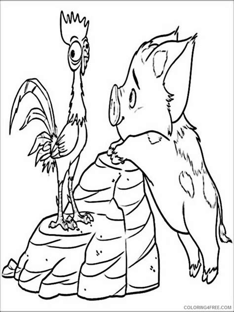 coloring pages moana free vaiana moana coloring pages printable coloring4free