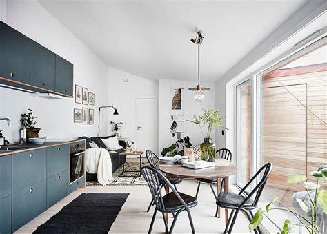 Salon Style Nordique by Visite Deco Petit Appartement Style Nordique Clem