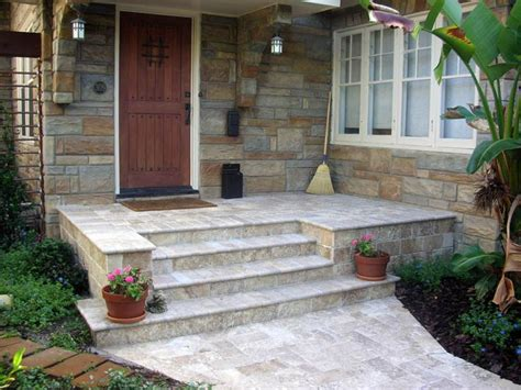 Front Patio Pavers Front Porch Landing Size Search Exterior