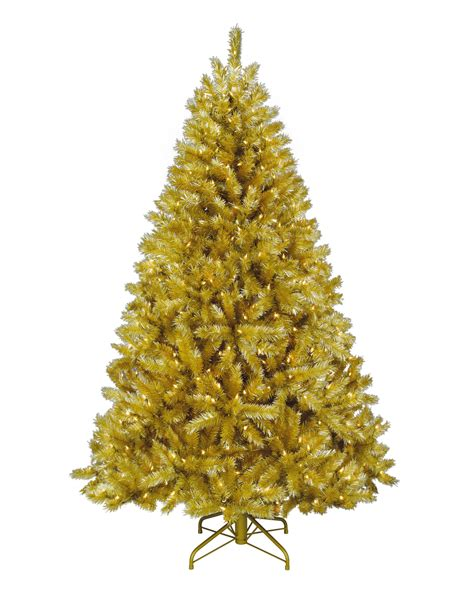 black and yellow christmas tree toasted chagne tree treetopia uk