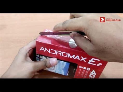 Andromax 4g Lte E2 unboxing andromax e2 lte 4g smartfren