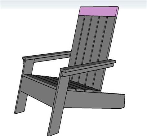 white 2x4 adirondack chair modish adirondack chair 2x4 chair plans must do