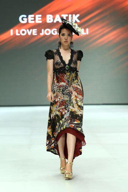 Bbs Dress Batik model gaun kombinasi brokat newhairstylesformen2014