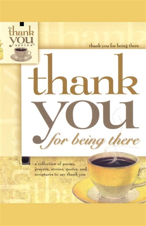 The Thank You Book thank you for being there book by howard books