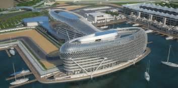 Race Track Abu Dhabi Amazing Construction Built F1 Racing Track Yas