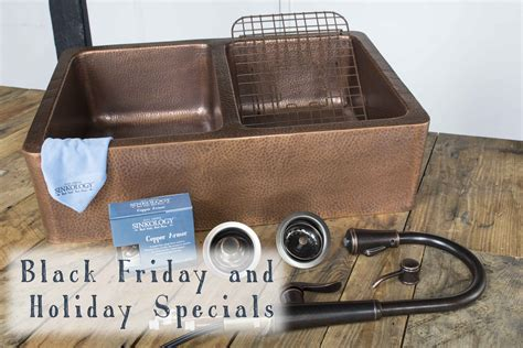 kitchen sink black friday sale black friday and sales preview sinkology copper
