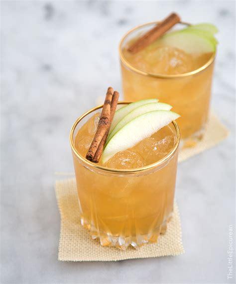 apple pie moonshine cocktail the little epicurean