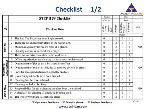 Manufacturing Housekeeping Checklist Related Keywords Manufacturing Housekeeping Checklist 5s Cleaning Checklist Template