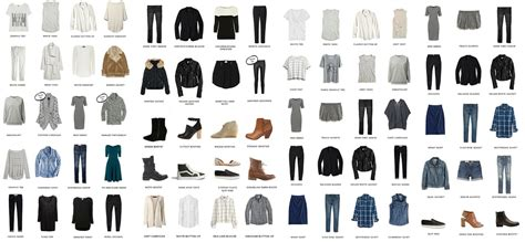 Villa Plan by How To Create A Capsule Wardrobe Lisa Villaume