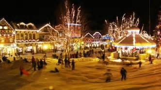 christmas tree lighting leavenworth wa 171 365 things to do