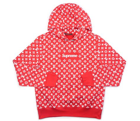 Sweater Pria Sweater Hoodie Supreme Lv quot limited edition quot supreme x lv collab hoodie vip apparel