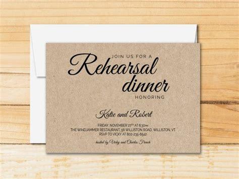 Rehearsal Dinner Invitation Template Calligraphy Modern Rehearsal Dinner Invitation Template Word