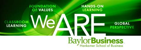 Mba Programs In Waco Tx by Baylor Hankamer School Of Business Linkedin