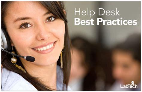 help desk best practices the channelpro network
