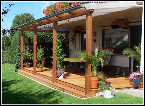 berdachung f r terrasse awesome holz 252 berdachung f 252 r terrasse images