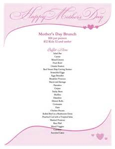 pebble creek hoa mother s day brunch menu 2013