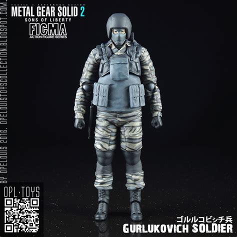 Figma Gurlukovich Soldier 298 Metal Gear Solid 2 Liberty opelouis s toys collection figma 298 mgs2 gurlukovich