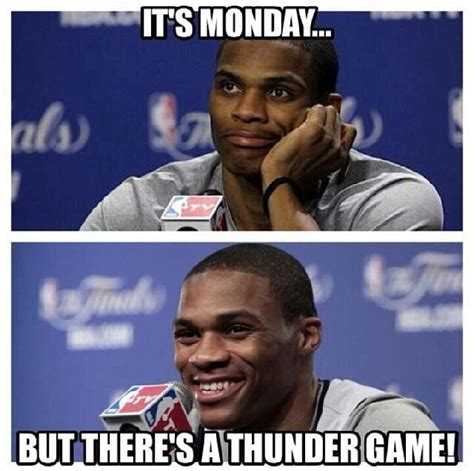 Oklahoma City Thunder Memes - 1000 images about feel the thunder on pinterest thunder