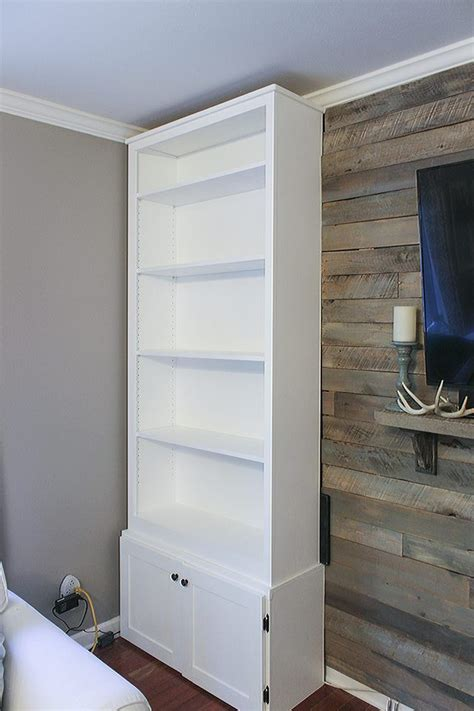 prefabricated bookcases look like built ins 53 best diy house projects images on