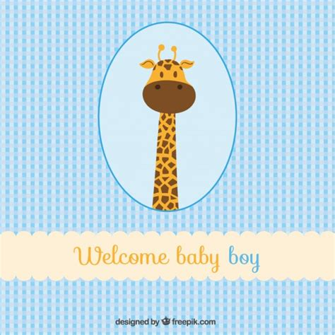 baby boy baby boy welcome baby boy card vector free