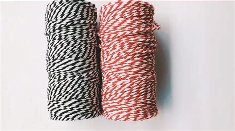 colored cotton rope china supplier sale colored cotton rope bakers twine