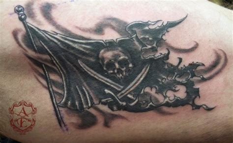 pirate flag tattoo 10 best pirate designs for menscosmo