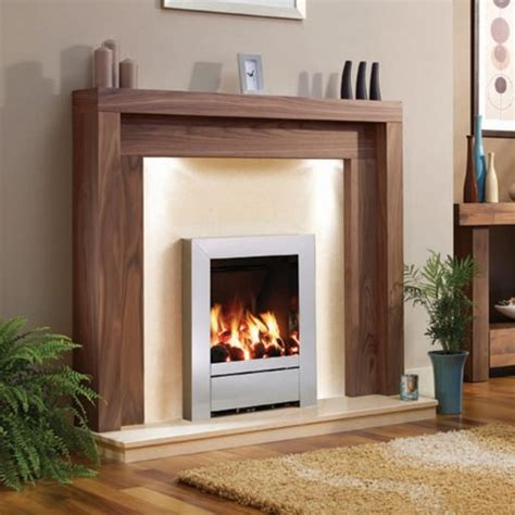 Kc Fireplace by Be Modern Kansas Timber 47 Quot Fireplace Suite
