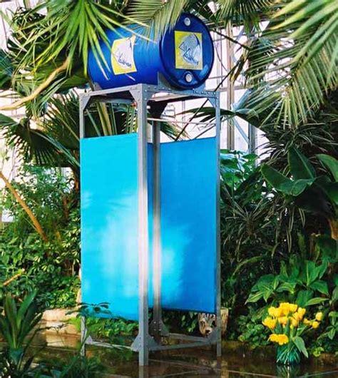 heated outdoor shower 15 outdoor shower designs modern backyard ideas barrels