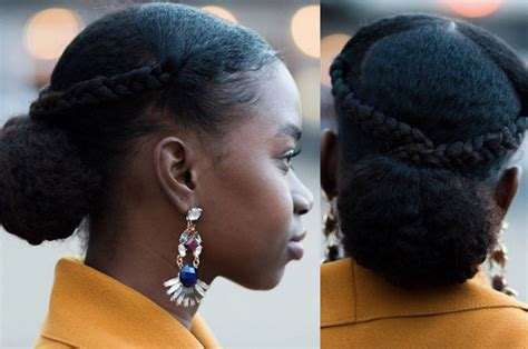 twists in front and loose in back 15 easy protective styles you can do even if you suck at hair