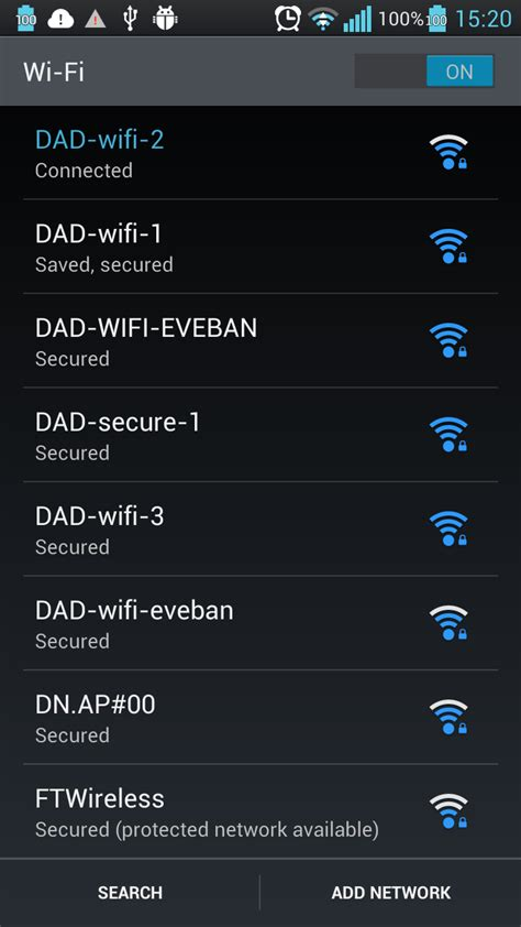 wifi android android how to show wifi select ssid to connect as