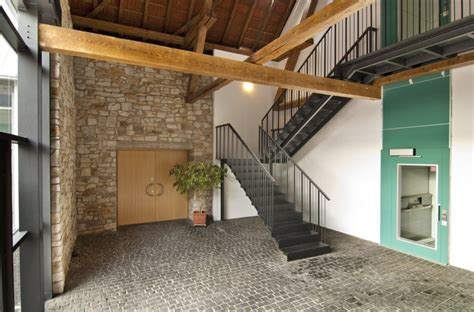 scheune einrichten foyer in der ehemaligen scheune umbau und erweiterung