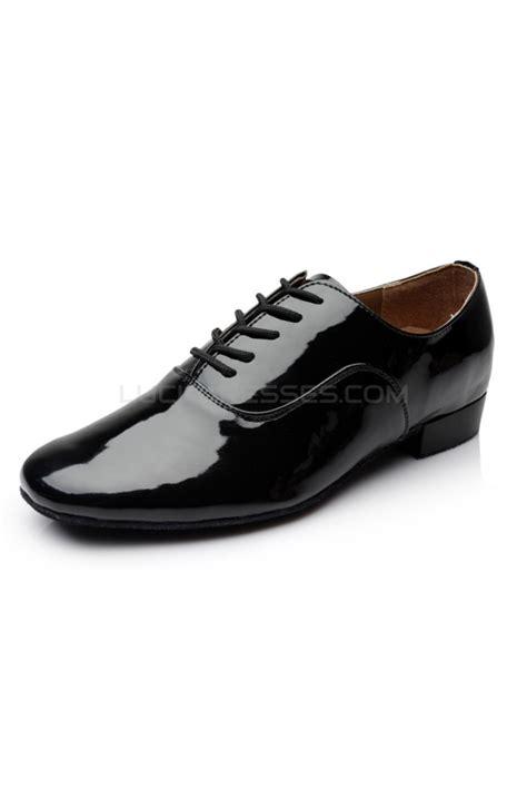 flat ballroom shoes s black leatherette modern ballroom