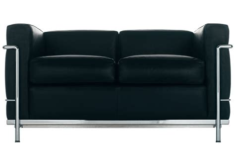 canap駸 cassina lc2 canap 232 2 places cassina milia shop