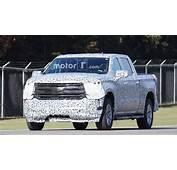 2019 Chevrolet Silverado Concept Redesign Spy Photos