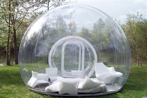 bubble tent this bubble tent would be perfect for cing under the
