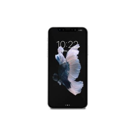 Moshi Ionglass For Iphone X Black 99mo096005 moshi ionglass iphone x tempered glass screen protector black