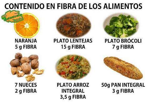 alimentos ricos en fibra soluble comidas ricas en fibras dietas de nutricion y alimentos