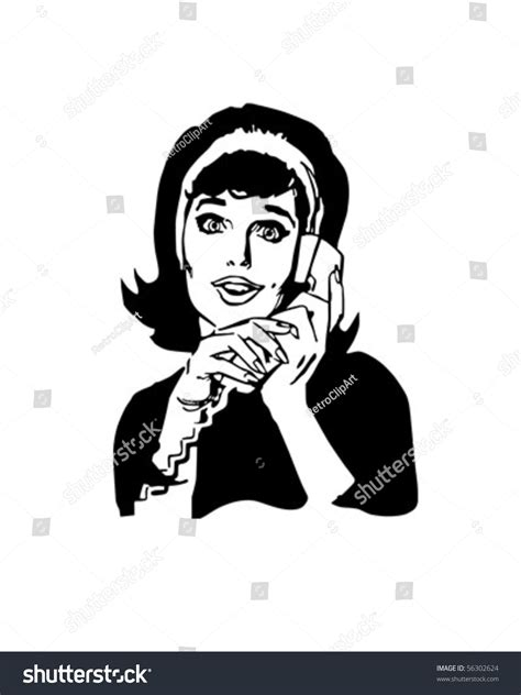 hold the phone hold phone chatting stock vector 56302624