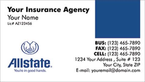 allstate insurance card template allstate insurance card