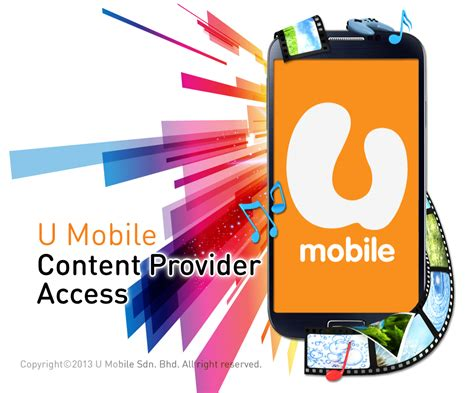 u mobile login content provider access