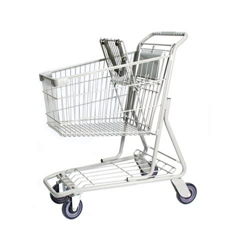 Compact Sit Shopping Cart by Wire Shopping Cart Compact Shelftalkers Manufacturing