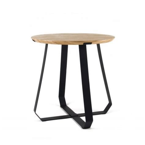 Shunan Side Table Ash Black Black By Design