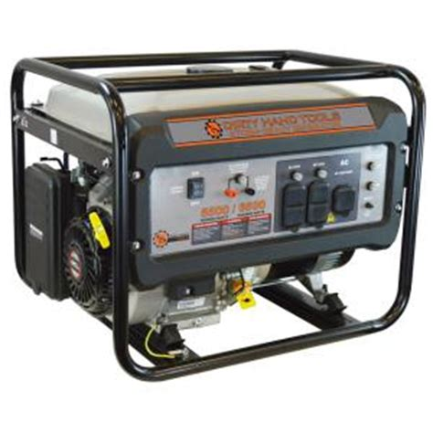 tools 5500 watt gasoline power generator 101092