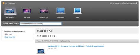 Mba Helpline Number by Averigua Qu 233 Macbook Air Tienes Seg 250 N Su Identificador