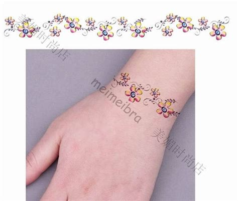 flower bracelet tattoo designs 22 best images about bracelet tatoos on