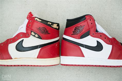 Original Air I Og Chicago 2013 air 1 quot chicago quot 1985 1994 2013 2015 comparison