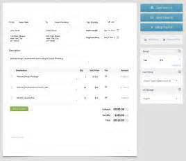 Professional Invoice Template Free by Free Invoice Template Make A Professional Invoice In Minutes