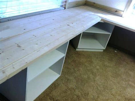 how to build an l shaped desk from scratch diy l shaped desk plans twinbrothers info