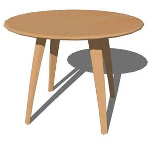 3d Dining Table Cherner Dining Tables 3d Model Formfonts 3d Models Textures
